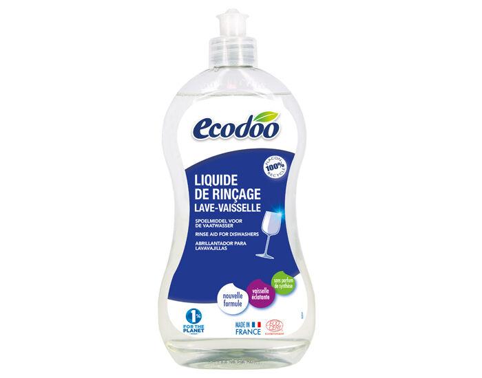 ECODOO Liquide de Rinçage Lave-vaisselle - 500 ml