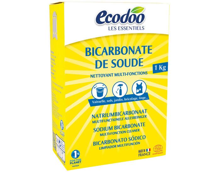 ECODOO Bicarbonate de Soude Boîte de 1Kg