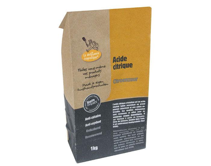 LA DROGUERIE ECOPRATIQUE Acide Citrique - 1 kg