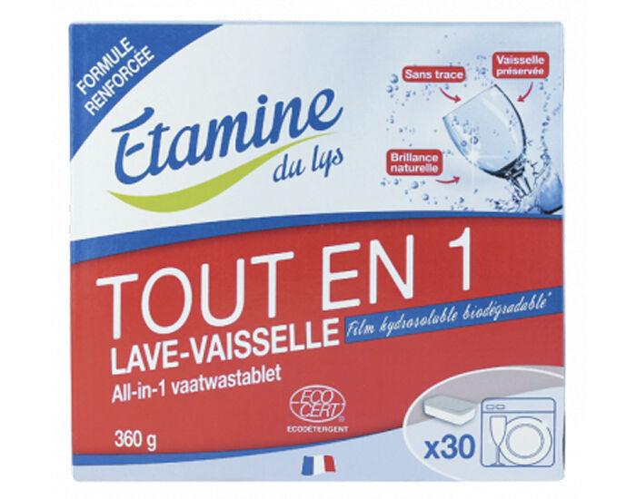 ETAMINE DU LYS Tablettes Lave-Vaisselle Tout en 1 - 360 g