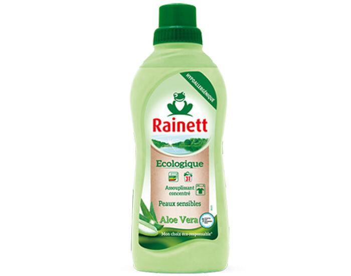 RAINETT Assouplissant Ecologique Concentré Peaux Sensibles Aloé Vera - 750ml