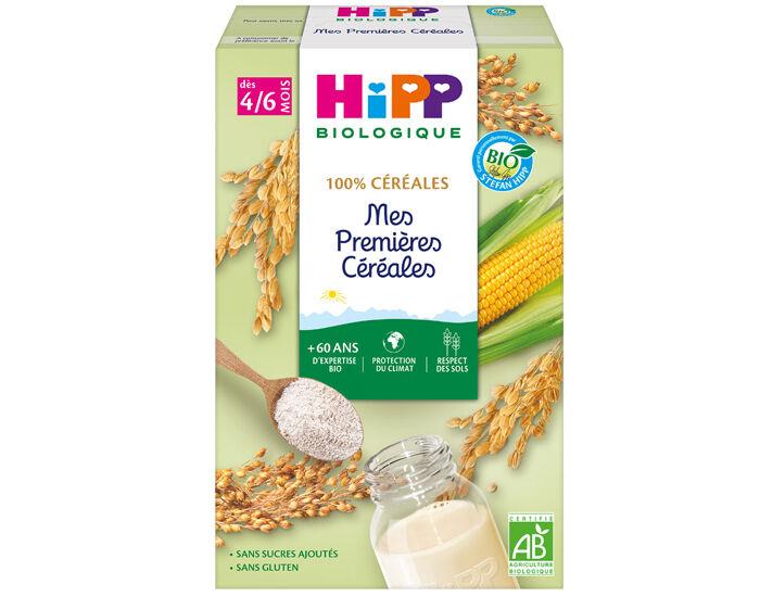 HIPP Mes Premières Céréales Sans Gluten - 250 g - Dès 4/6 mois