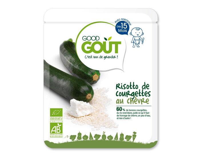 GOOD GOûT GOOD GOUT Petit Plat pour Bébé 220 g - Risotto de Courgettes au Chèvre - Dès 15 mois