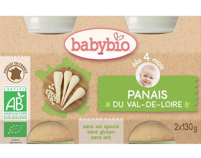 BABYBIO Mes Légumes - 2x130g Panais - 4 mois