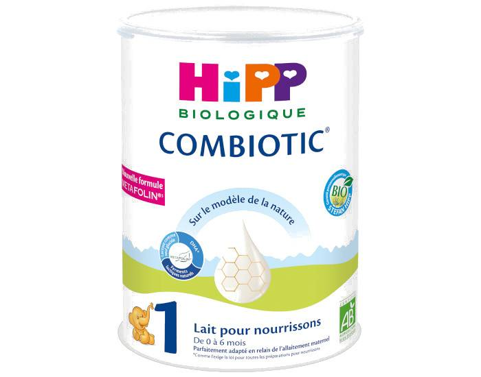 HIPP Lait pour Nourrisson 1 Combiotic - De 0 à 6 Mois - 800g