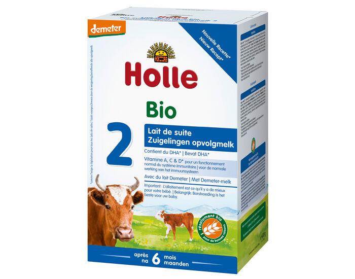 HOLLE Pack x3 Lait de Suite 2 - Dès 6 mois - 600 g