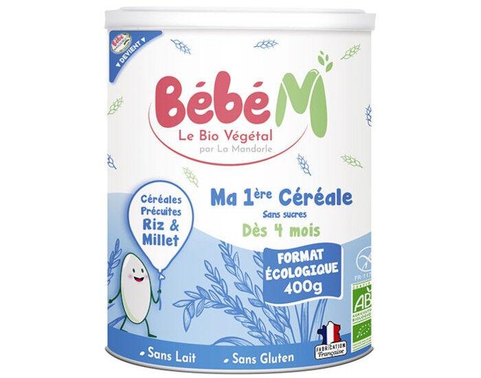 BéBé M BEBE M Ma Première Céréale Riz Millet - 400 g - Dès 4 mois