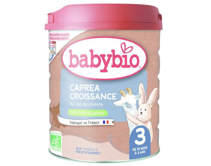 BABYBIO Croissance Capréa 3 - 800g - Dès 10 Mois
