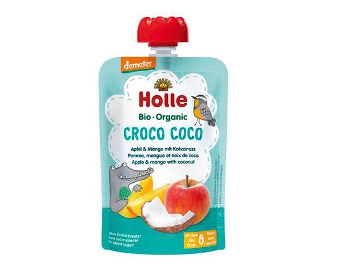 HOLLE Gourde Pomme Mangue Noix de Coco -100 g - Dès 8 mois