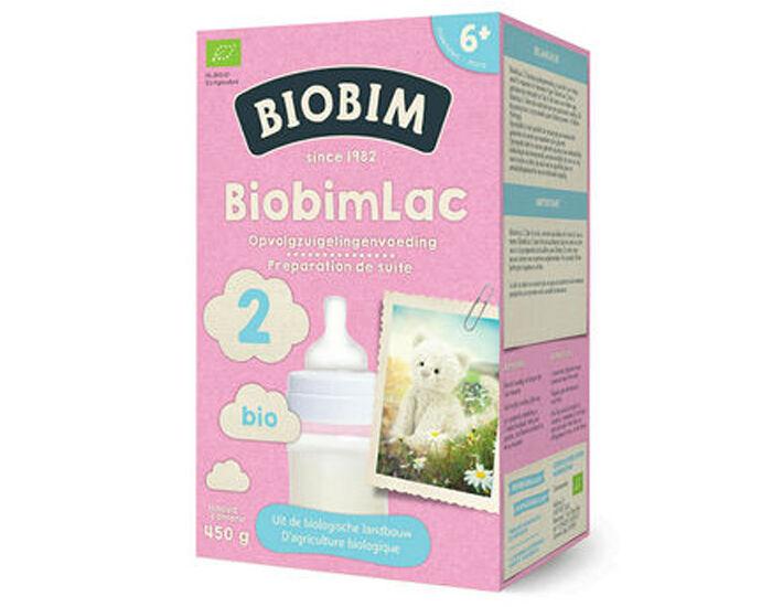 BIOBIM Lait de Suite 2 - Dès 6 mois - 450 g