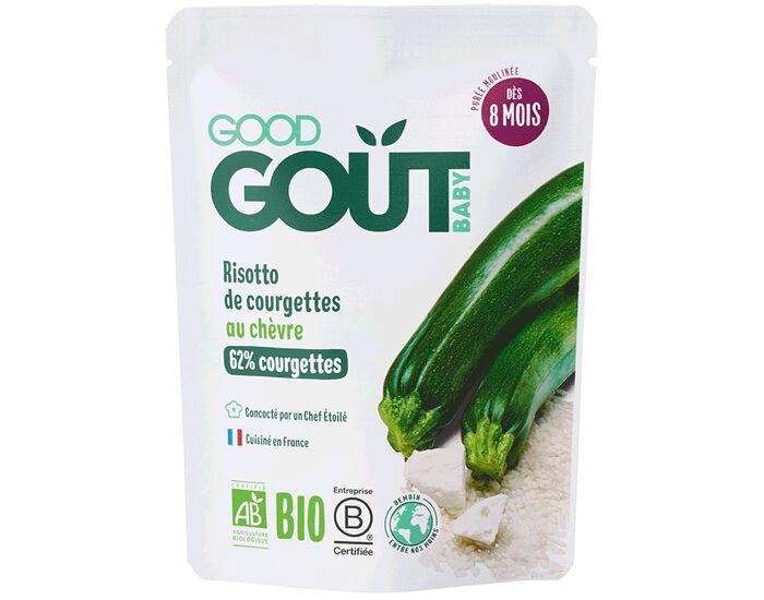 GOOD GOûT GOOD GOUT Petit Plat pour Bébé 190 g - Risotto de Courgettes au Chèvre - Dès 8 mois