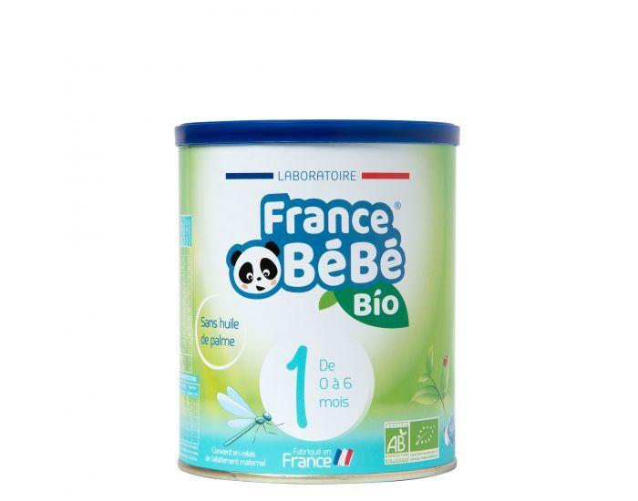 FRANCE BéBé BIO Pack 3 Boîtes Lait Pour Nourrissons 1 - De 0 à 6 mois 3x400