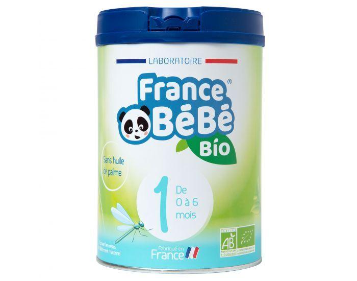FRANCE BéBé BIO Pack 3 Boîtes Lait Pour Nourrissons 1 - De 0 à 6 mois 3x800