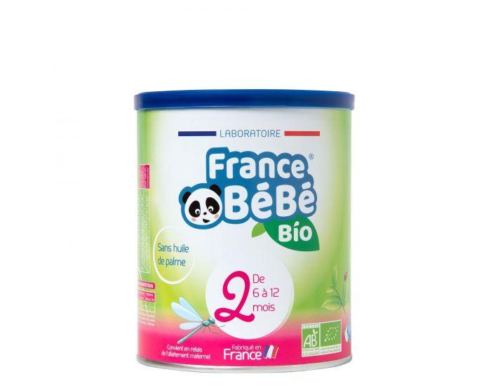 FRANCE BéBé BIO Pack 3 Boîtes Lait de Suite 2 - Dès 6 mois 3x400