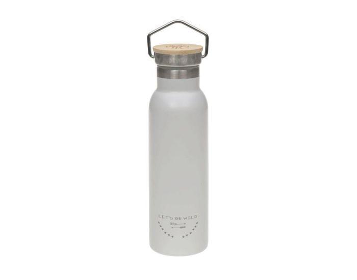 LASSIG Gourde En Inox Isotherme - 460 ml Gris