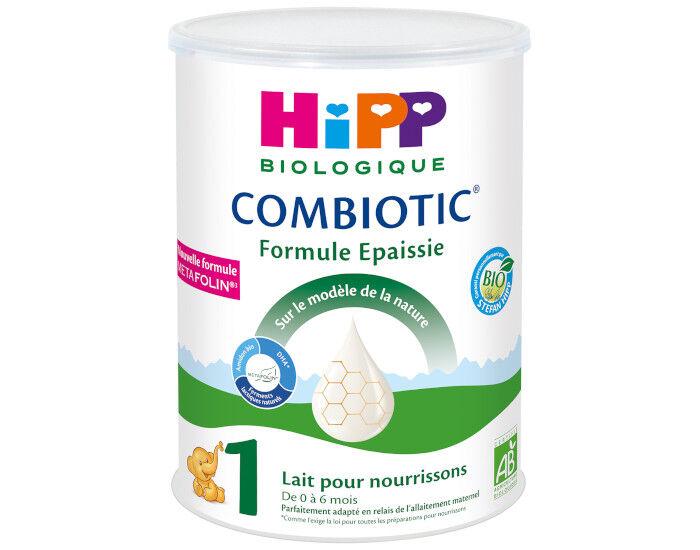 HIPP Lait 1 Combiotic Formule Epaissie - 800g