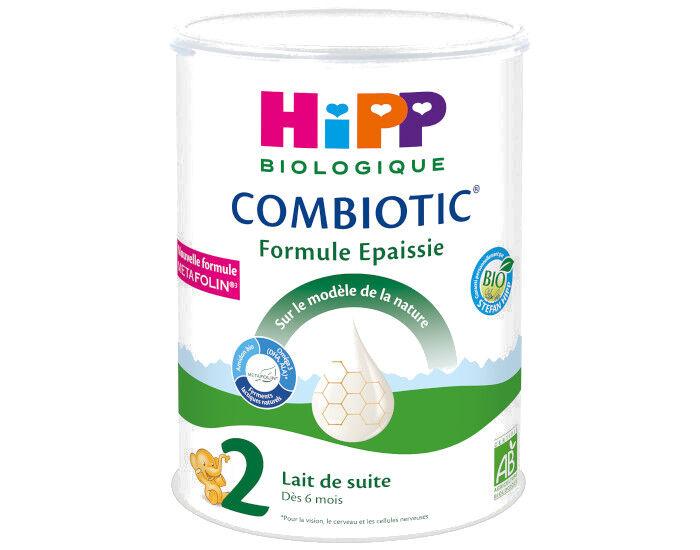 HIPP Lait 2 Combiotic Formule Epaissie - 800g