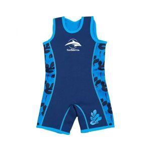 MAYOPARASOL KONFIDENCE Combinaison Néoprène Enfant Mayo Parasol - Bleue à motifs Multicolore Taille 6-7ans