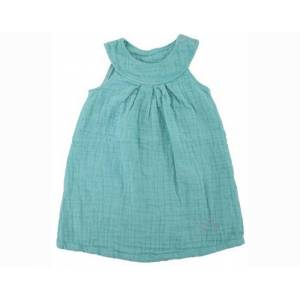 IOBIO Robe Sans Manches - Peppermint 9-12 mois (74-80 cm)