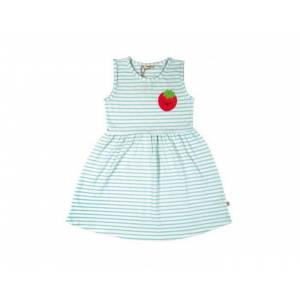 BEBESEO ROBE BIO SWEET TURQUOISE RAYÉ 3 ans