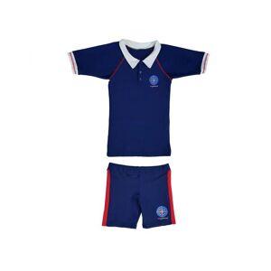 MAYOPARASOL Capitaine Mayo Parasol Ensemble Tee-shirt Manches Courtes et Shorty Anti UV Garçon Taille 8 ans