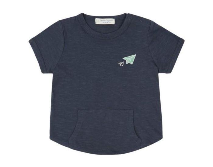 SENSE ORGANICS T-Shirt Bébé Bio Avion 18 mois