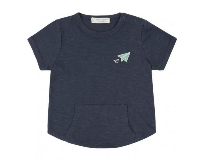 SENSE ORGANICS T-Shirt Bébé Bio Avion 12 mois