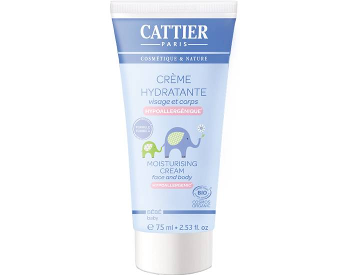 CATTIER Crème Hydratante Bébé - 75 ml