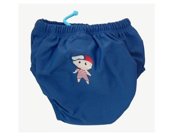 MAYOPARASOL Pirate culotte maillot couches antifuites Marine 3 mois
