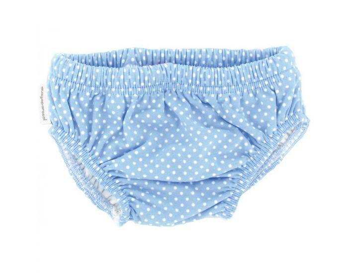 MAYOPARASOL Célestine Culotte Maillot Couche Antifuites - Bleu Taille 6 mois