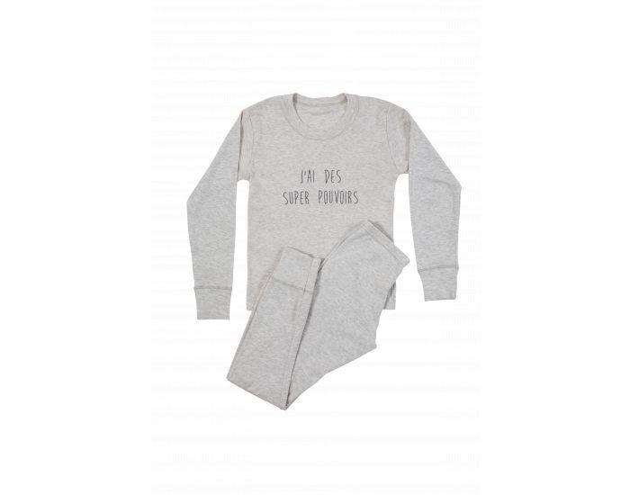 DOODERM Pyjama Enfant Apaisant pour les Peaux Sujettes à Eczéma 10/12 ans