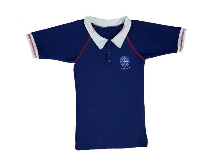 MAYOPARASOL Capitaine T-shirt Anti UV Manches Courtes Taille 6 ans