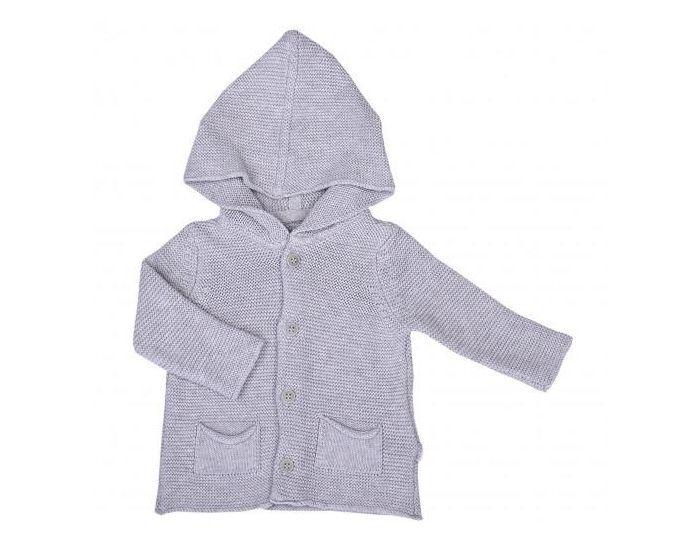 SEVIRA KIDS Cardigan bébé en tricot Gris 9-12M - 74CM