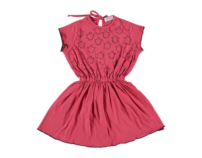 ANGUE ANGUE Robe Rose-Framboise Bébé 18-24 Mois