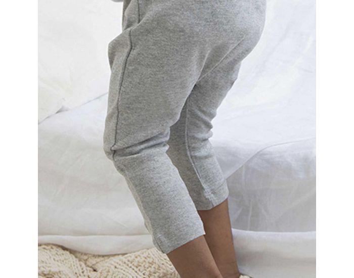 MADE IN BIO Pantalon Coton Biologique Bébé - Nihiwatu Gris 3-6 mois