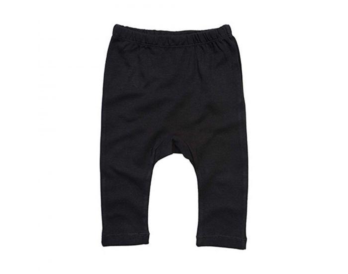 MADE IN BIO Pantalon Coton Biologique Bébé - Nihiwatu Noir 2 ans