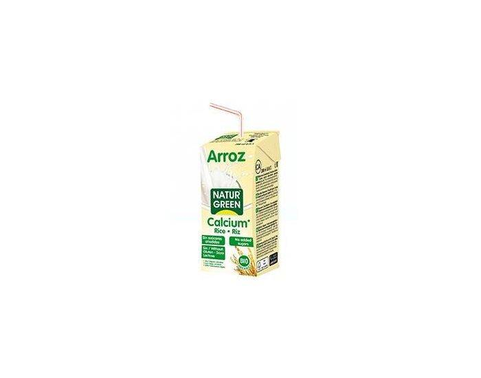 NATURGREEN Boisson Riz-Calcium Nature Bio -  6x200ml