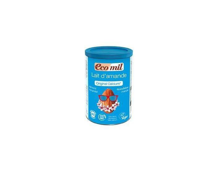 ECOMIL Lait Amandes-Calcium Instantané Bio 400 grammes