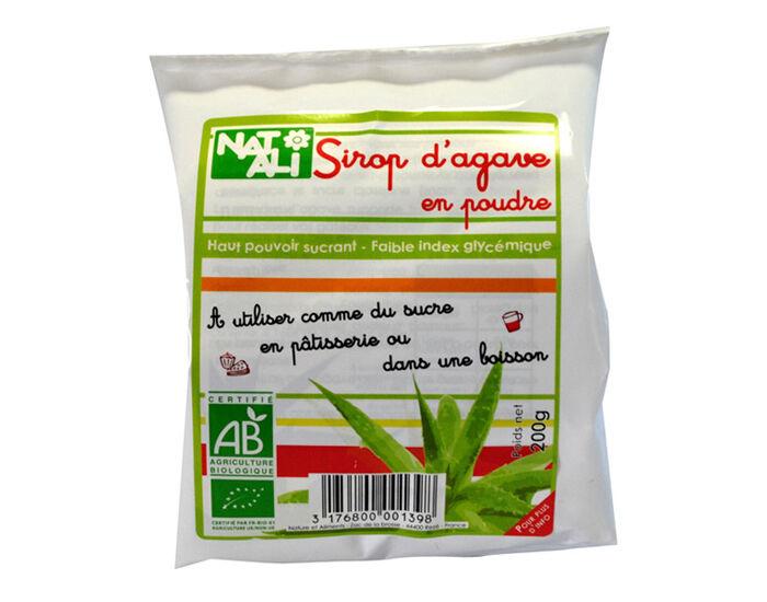 NAT-ALI Sirop d'Agave en Poudre - 200g