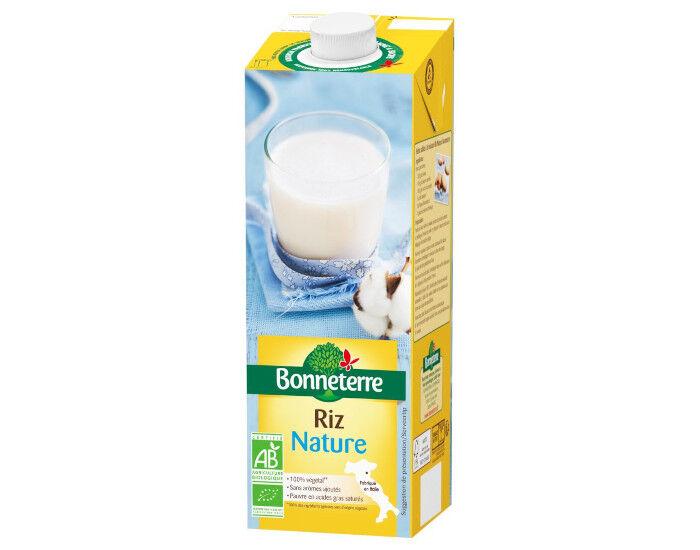 BONNETERRE Boisson Végétale Riz Calcium - 1L