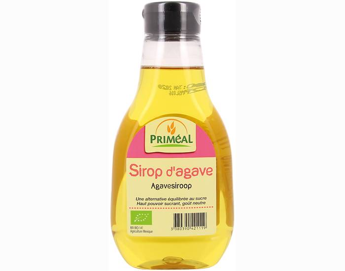PRIMEAL Sirop d'agave - 330 ml