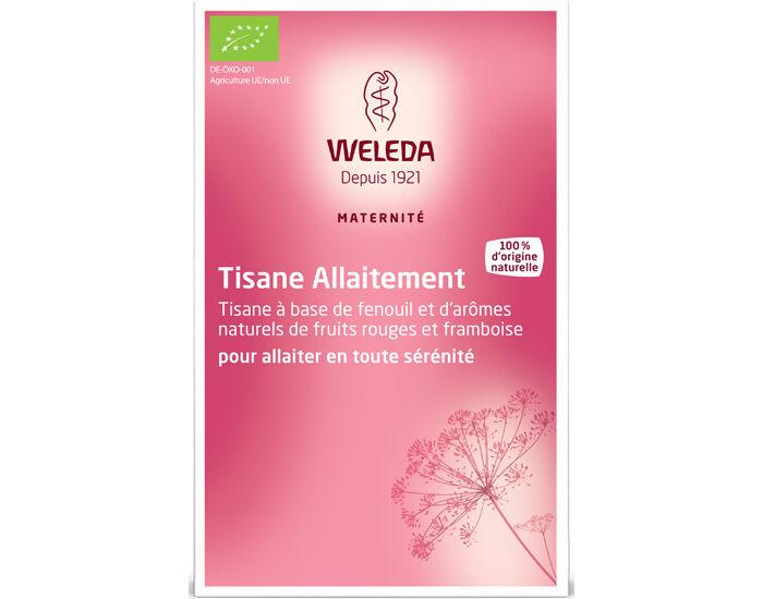 WELEDA Pack Tisanes Allaitement Fruits Rouges 4 boîtes de 20 sachets