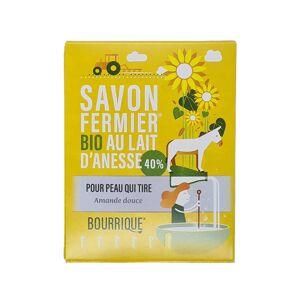 LABORATOIRE PAYSANE Savon Amande Douce et Lait d'Anesse - 100 g