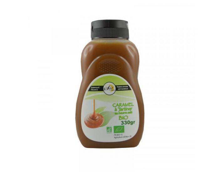 CRYSTAL GOURMET Caramel à tartiner Bio - 330 g