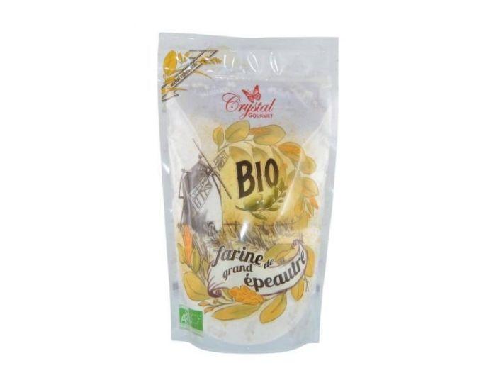 CRYSTAL GOURMET Farine de Grand Epeautre Bio - 500 g