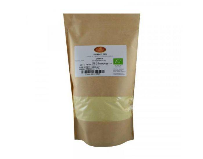 CRYSTAL GOURMET Farine de Lupin Bio - 500 g