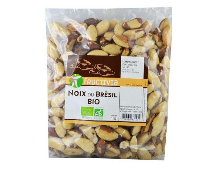 FRUCTIVIA Noix du Brésil Bio 1 kg