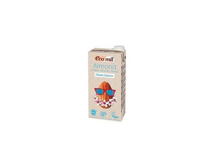 ECOMIL Lait dAmandes-Calcium Classic Bio - 6x1L