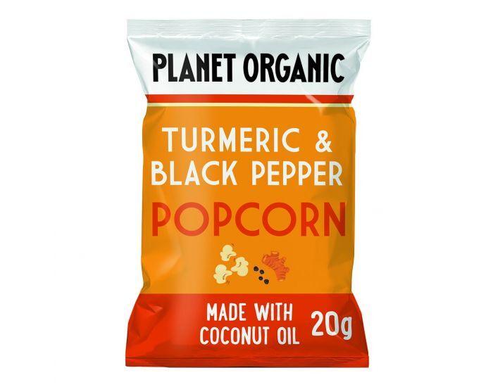 PLANET ORGANIC Popcorn Curcuma Poivre Bio - 20g