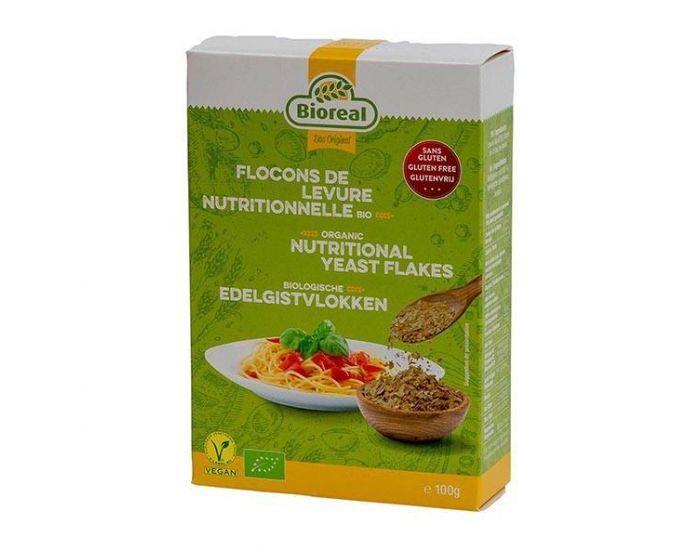 BIOREAL Flocons de Levure Nutritionnelle Bio - 100g